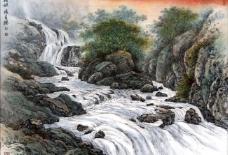 山溪欢歌图片