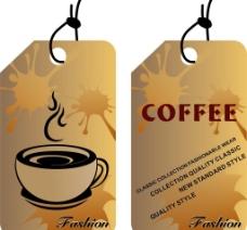 咖啡厅吊牌图片