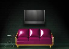 时尚客厅沙发图片