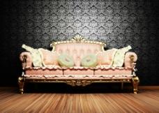 欧式古典沙发图片