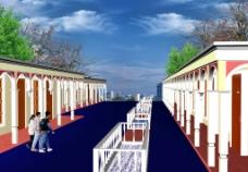 新疆民族商业街图片