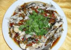 野山椒蒸鱼头图片