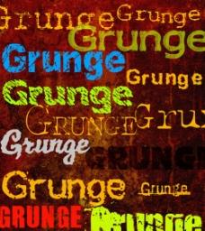grunge字体素材24款
