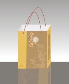 杏花楼月饼包装手提袋图片