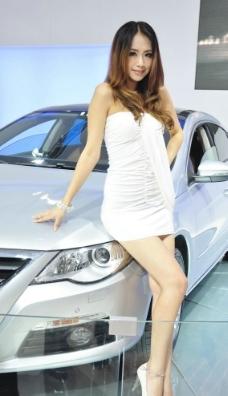车模MM图片