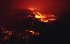 破裂岩浆图片