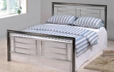 金属床 床 床垫 床单图片