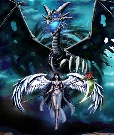 天使与恶魔图片
