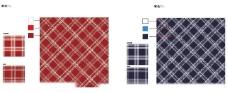 清爽的 红白蓝 经典条纹格图片