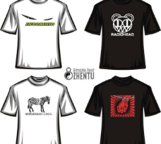 t恤设计4款图片