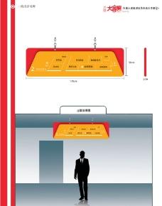 二楼指示吊牌图片