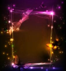 彩色动感相册相框图片