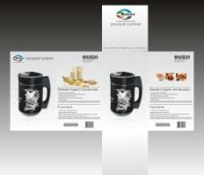 豆浆机包装设计 电器包装设计图片