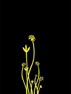 兰花 墙贴装饰图片