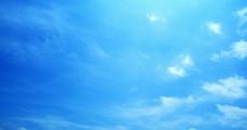 蓝天白云图片