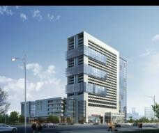 商業區建筑效果圖圖片