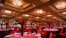 宴会厅鲜花图片