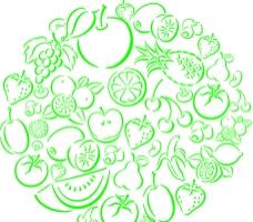 矢量水果图片