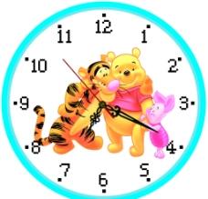 老虎时钟图片