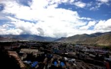 一览西藏全景图片