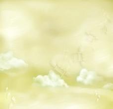 梦幻相框背景图片