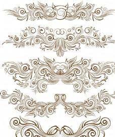 对称花纹图片