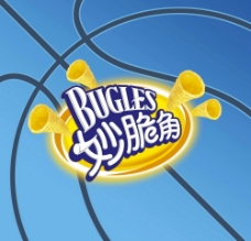 妙脆角标志 NBA(Bugles logo NBA)图片