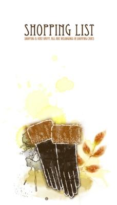 韩国水墨手套商场海报图片