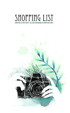 韩国水墨相机商场海报图片