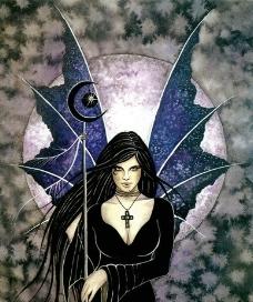 月亮女神图片