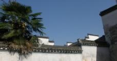 宏村屋顶一览图片