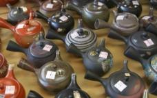 待售的日本茶道烧锅图片