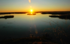 美丽的日落图片