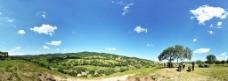 高原全景图图片