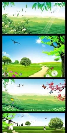 风景 样版图片