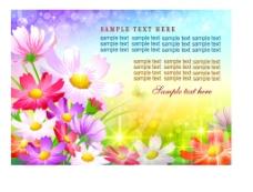 梦幻花卉花纹图片