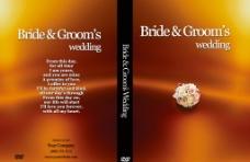 婚礼录像dvd包装图片