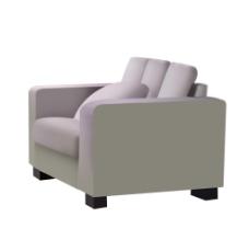 沙发斜侧面素材图片
