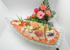 海鲜冻刺身图片