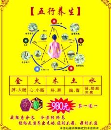五行养生 海报图片