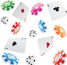 赌博赌具图标矢量素材