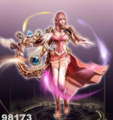 美女游戏人物图片