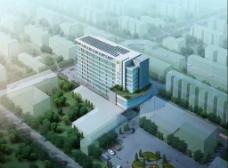 医院鸟瞰图图片