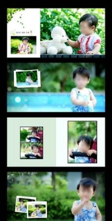 童年故事写真模板图片