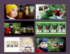 儿童故事写真图片