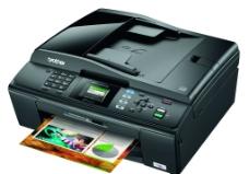brother黑色打印机传真机图片