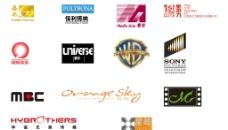 电影娱乐公司矢量标志汇总图片
