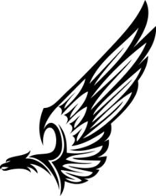 鹰 矢量图