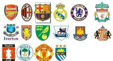 英超热门俱乐部标志图片