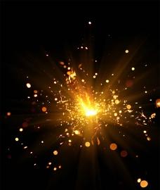 火光背景(合层)图片